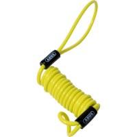 ABUS Memory cable pour bloque-Disque sur moto, jaune