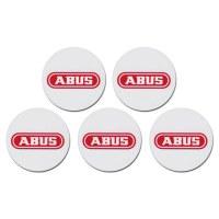 ABUS 5x Badges Puces et Etiquette de Proximity AZ5502