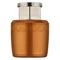 ABUS Antivol pour selle de vélo NutFix M5, pour tige de selle 34.9 mm, Orange