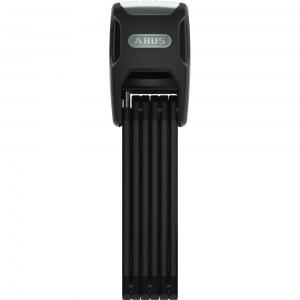 ABUS Antivol pliable vélo, BORDO Alarme 6000A/120 cm noir + support SH