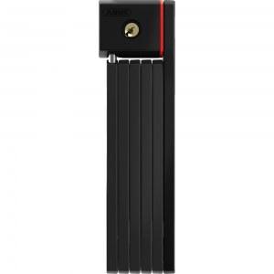 ABUS Antivol pliable à clé Bordo 5700K/80 cm Noir + support SH