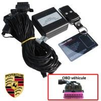 Antivol électronique sur prise OBD Porsche