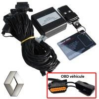 Antivol électronique sur prise OBD Renault