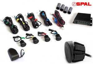 SPAL EVO50A Kit radars de recul en angle pour utilitaires et camping cars